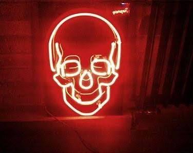 neon lights signs