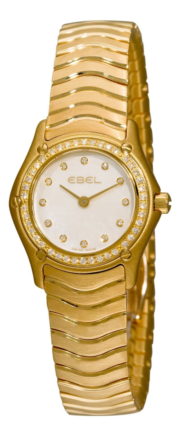 Ebel Women's 8003F14/9925 Classic Mother-Of-Pearl Dial Diamond Watch