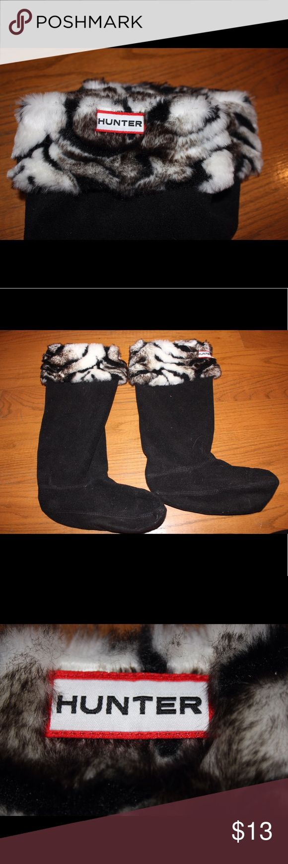 Hunter socks Hunter zebra socks Hunter Boots Accessories Hosiery & Socks