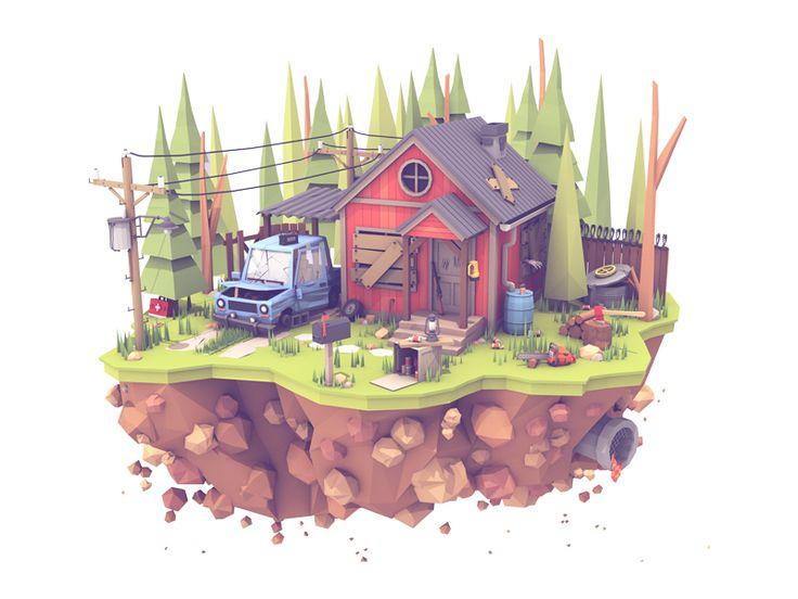 Zombie Island by Timothy J. Reynolds for Twitch
