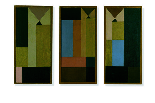 Untitled (Triptych), 1918