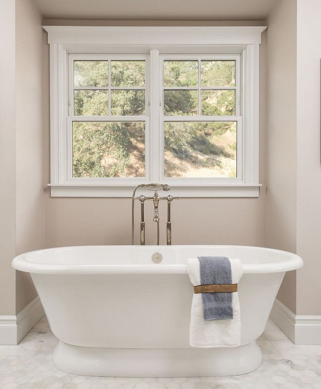 Sherwin Williams Popular Gray: Neutral Bathroom Wall Paint Color Sherwin Williams Popular