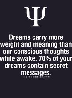 If I only knew what those secrets were lol. I have the oddest dreams!!