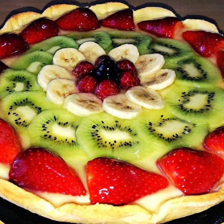 Необыкновенно вкусный,нежный, фруктовый пирог. Украсит ваш стол и порадует вас своим восхитительным вкусом. Лёгок и быстр в приготовлении. Рекомендую. h... - Таня Попазова (МКарамелька) - Google+