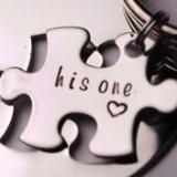 Additional puzzle piece with name, date or initials Charm Add-On / Keychain / necklace