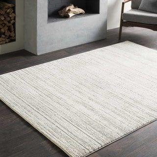 Tranquil Modern Grey & Taupe Rug (5'3 x 7'6) (Option: Grey)