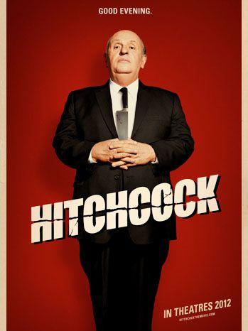 Imponente Sir Anthony Hopkins en el primer póster de 'Hitchcock'. Estreno USA 23 Noviembre para competir en los Oscar