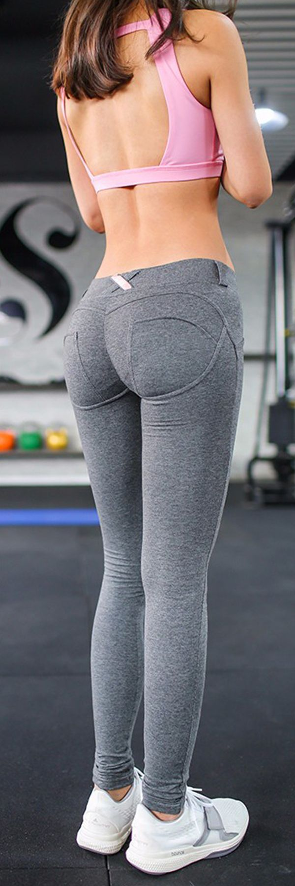 I'm crazy about these butt-lifting leggings! They are really perfect for exercising or just some flirty fun! They are made from a high quality compression blend material which lifts your hips and butt