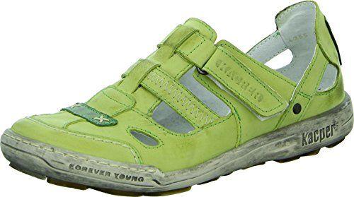 Kacper 2-4355 Damenschuh Sandalette Slipper Freizeit Ziernähte Leder - http://on-line-kaufen.de/kacper/kacper-2-4355-damenschuh-sandalette-slipper-2