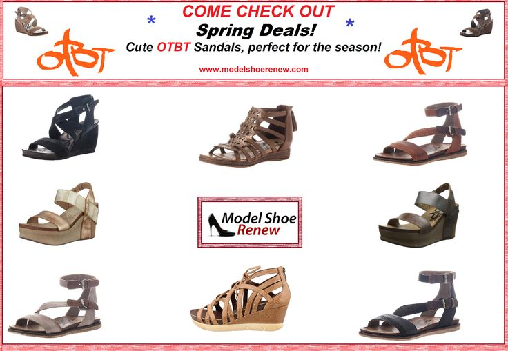 NEW OTBT Sandals available now! In store and online at