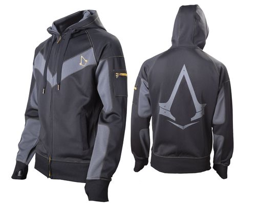 Assassin's Creed ® Syndicate Raglan Parkour Official Licensed Hoodie