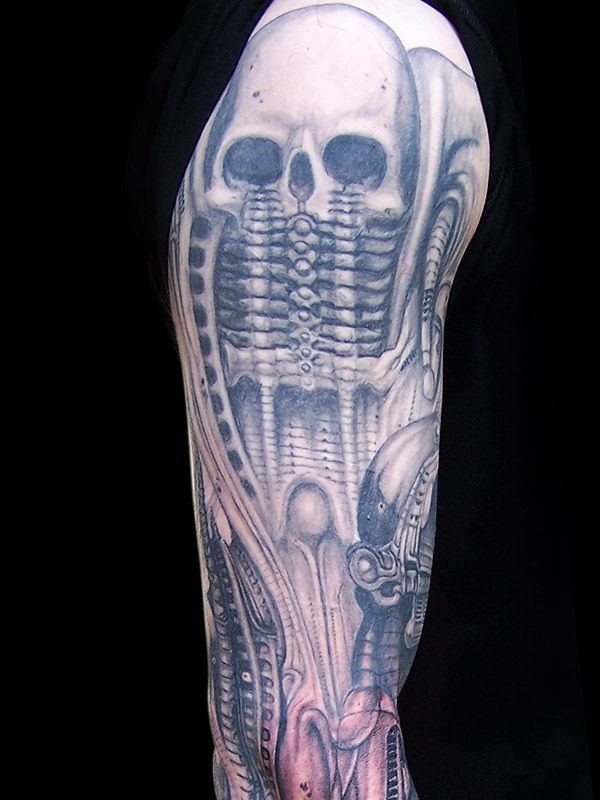 hr-giger-tattoo-i12.jpg (JPEG Image, 600 × 800 pixels ... H.r. Giger Tattoo