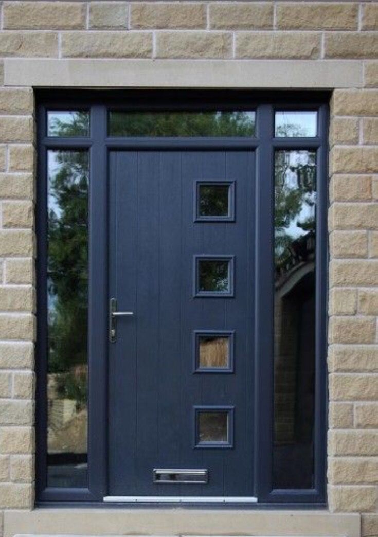 Modern composite door to make any home beautiful