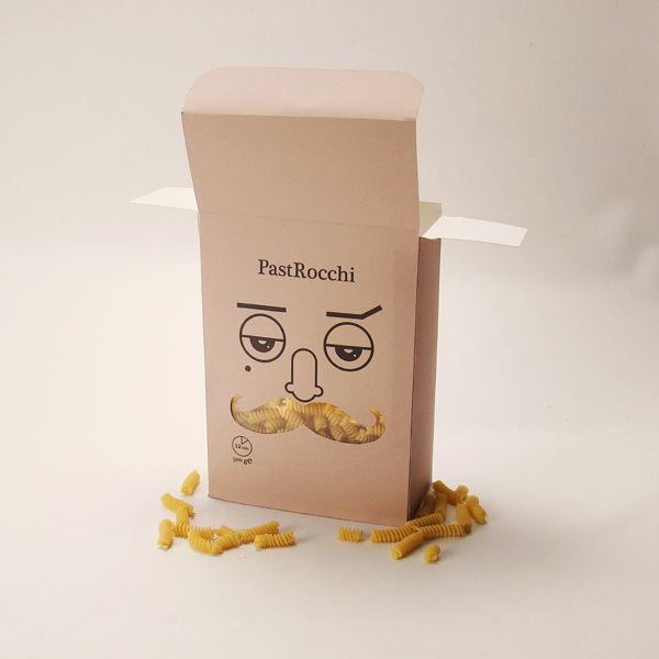 How cute is this PastRocchi #pasta #packaging PD
