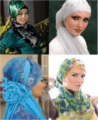 belos modelos de véu para mulheres muçulmanas