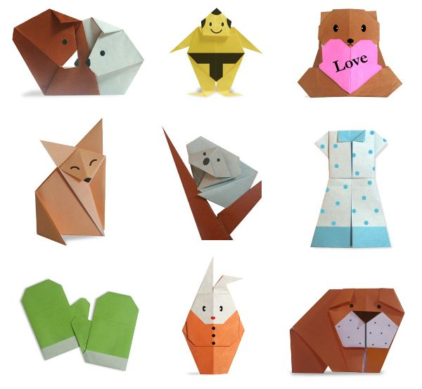 22 best images about origami on Pinterest | Origami paper ... - photo#8