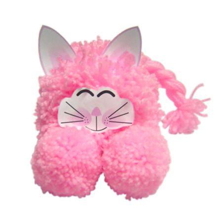 54 best cat pom poms images on pinterest pom poms pom for Pom pom craft patterns