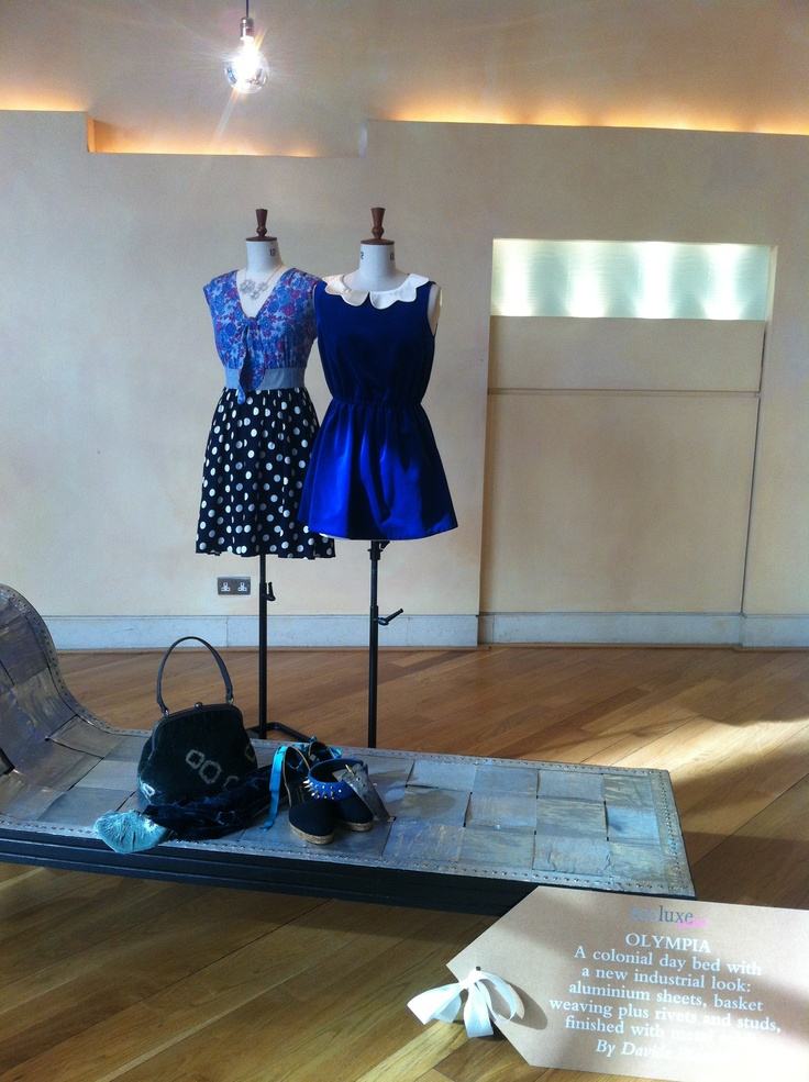 Etrala London and Maiya at Ecoluxe: sustainable fashion show at London