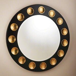 Domino Round Mirror