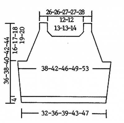 Бесплатная схема вязания белого вязаный топа. Вязать просто. - 11 Апреля 2010 - Вязание спицами, модели и схемы для вязания на спицах