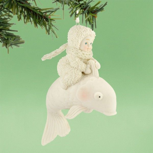 Riding the Wave Ornament