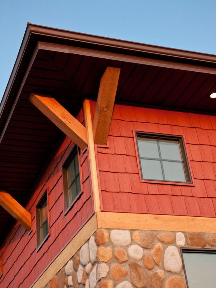 34 Samples Of Modern Houses Most Popular Exterior Design: Exterior House Siding, Siding Options, Exterior Siding Options