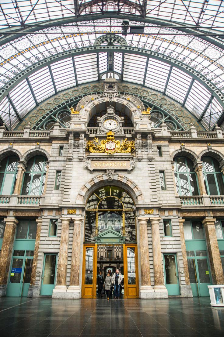 Central station Antwerp, Belgium  Photography: Jeanine Polderdijk for ComMediArt