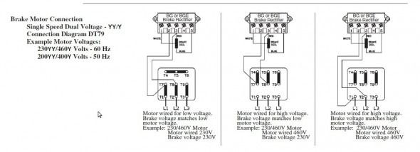 High Low Voltage Single Phase Motor Wiring Diagram Free