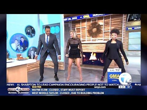 Kym Johnson Chats 5,6,7,8 Diet & Cardio Dance Workouts - GMA