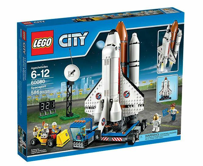 Lego 60080 Town City Spaceport Brand New Sealed Space Port Shuttle 2015 Lego City Lego City Space Lego City Sets