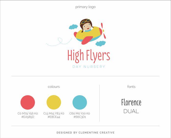 New Work: High Flyers Nursery Logo Design