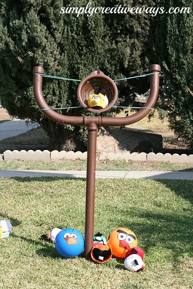 Simply Creative Ways » Life Size Angry Bird Launcher