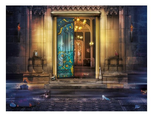 For Whom The Bell Tolls (Cinderella) 45 Limited Edition, 5 Artist Proofs, 10 Deluxe Prints