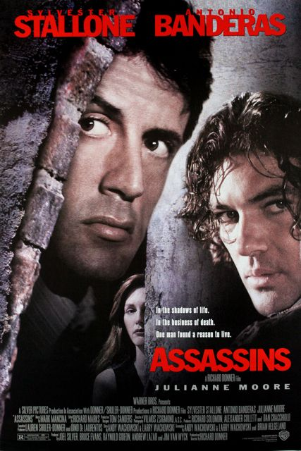 movies 1995 | Assassins Movie Poster 1995 Sylvester Stallone Product Image