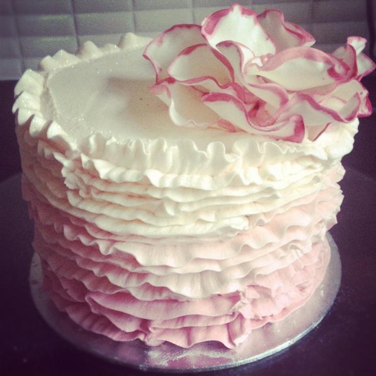 ruffle cake buttercream