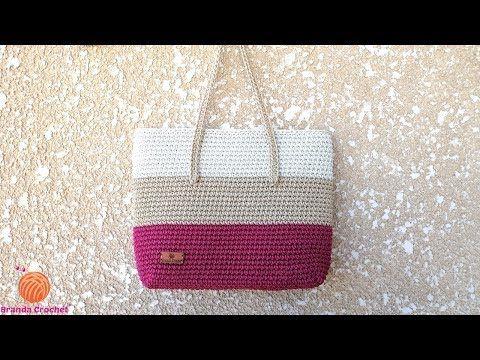كروشيه طريقة تركيب البطانة والسوستة Crochet Lining And Zipper For A Crochet Bag Youtube Crochet Bag Tutorials Crochet Handbags Crochet Bag