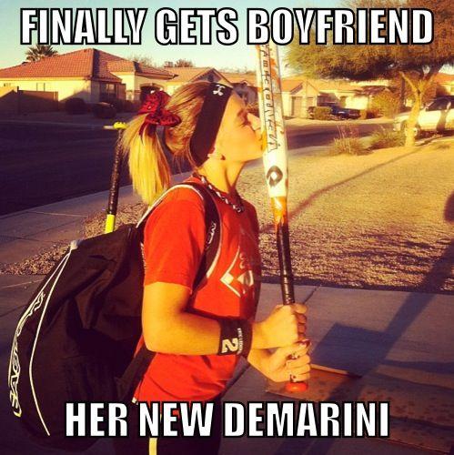 Softball problems, new boyfriend