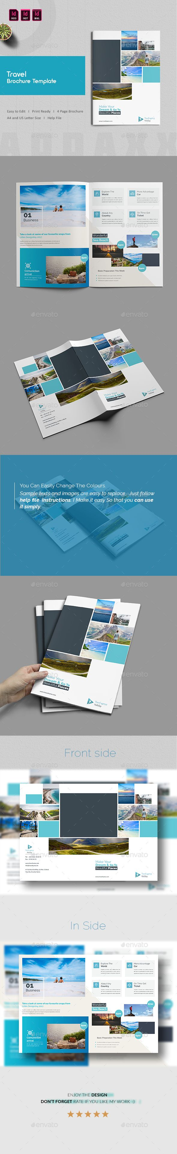 letter size brochure template - best 25 travel brochure template ideas on pinterest