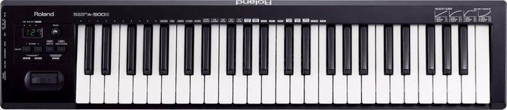 A-500S: MIDI Keyboard Controller dengan 49-tuts berukuran penuh, MIDI keyboard controller sederhana yang dirancang oleh Cakewalk dan Roland. Memberikan nuansa dan respon keyboard yang sesungguhnya dalam desain ergonomis dan portabel. Sempurna bagi siapa pun yang membuat proyek musik di rumah atau di studio dengan komputer, pengaturan akademik untuk yang membutuhkan suara dahsyat dengan biaya rendah, atau pertunjukan live dan aplikasi perekaman mobile.