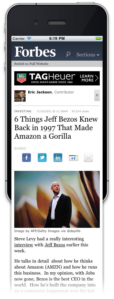 mobile article - Google zoeken