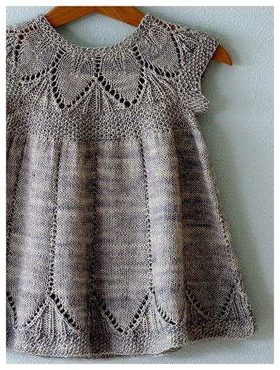 Gorgeous knit dress pattern! Also, it doesn't hurt that we want to name a little girl Clara one day :)