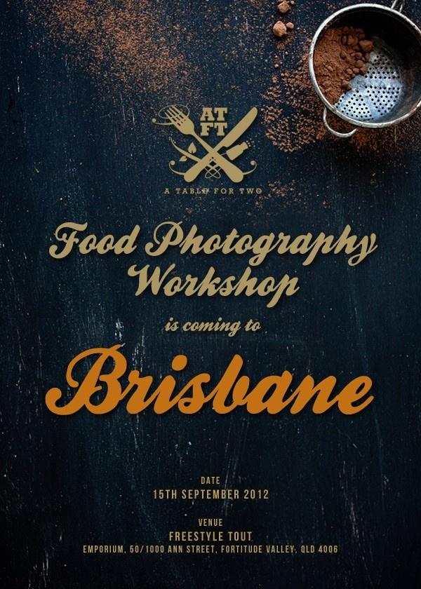 Food Photography Brisbane: Food Photography Workshop In Brisbane