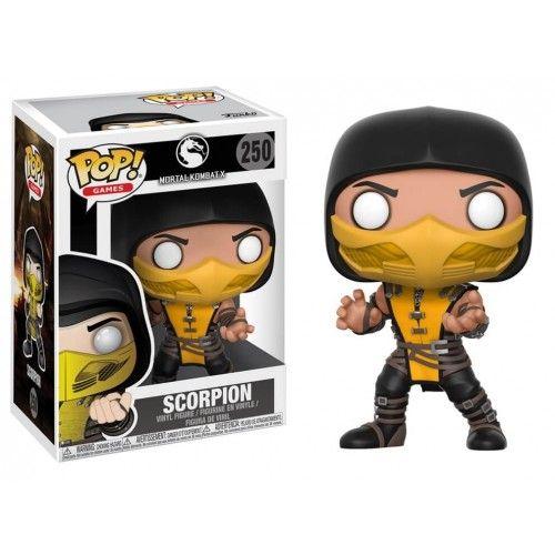 Funko Scorpion, Mortal Kombat, Games, Jogos, Funkomania