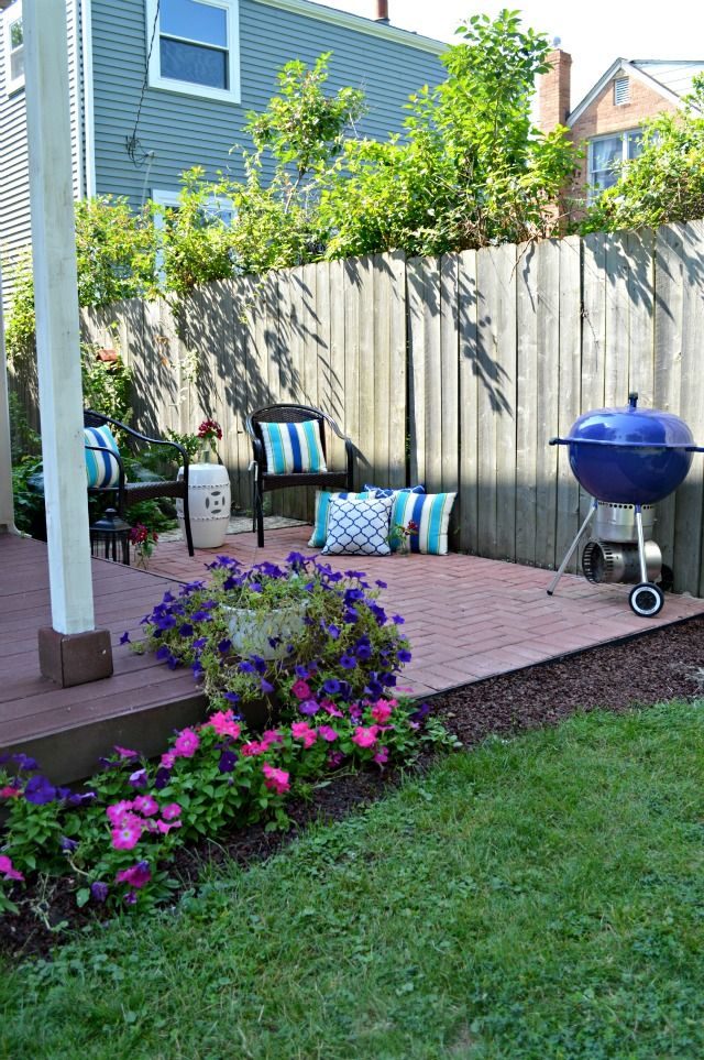 37 best patio ideas images on pinterest | brick patios, patio ... - Diy Brick Patio Ideas