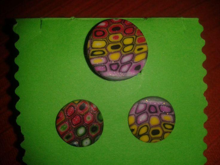 Conjunto anillo-pendientes colorines 4
