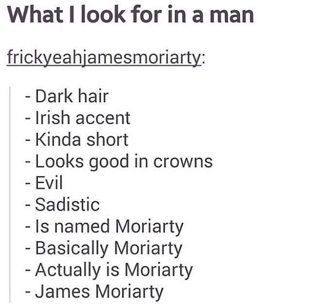 james moriarty | Tumblr