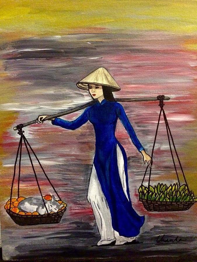Pin On Vietnam Art