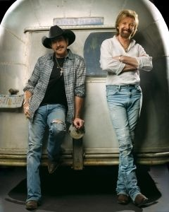 Brooks & Dunn (Kix Brooks & Ronnie Dunn) // Oh How I HATED to see them split. Best duo ever in country music. I think they did it all and won everything there is to be won awards-wise.
