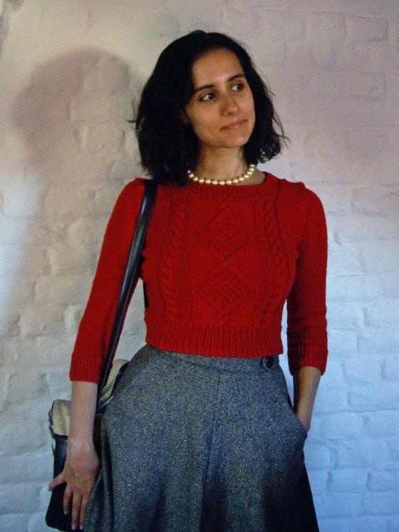 chuck sweater and circle skirt