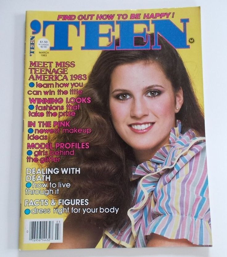 March 1983 | Favorite 'Teen magazine covers 1970-2000 ...